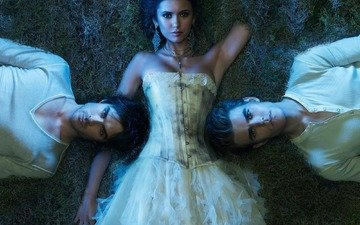 the vampire diaries, the series, elena, stefan, damon