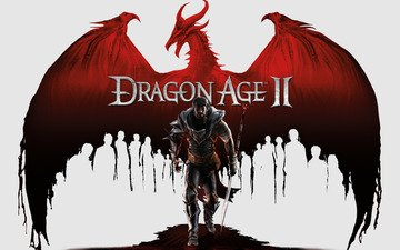 warrior, dragon, dragon age