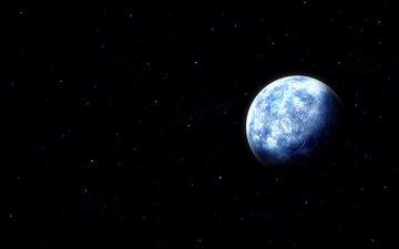 небо, земля, космос, фото, звезды, планета, вид, пейзажи, планеты, звезда, черный, обои на рабочий стол