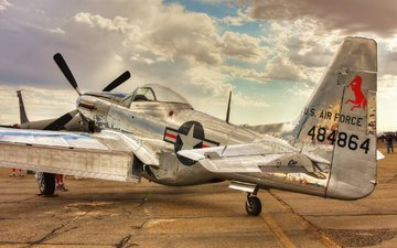 aircraft, mustang, the p-51