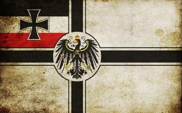 орел, флаг, германия, имперский военно-морской флаг германии период