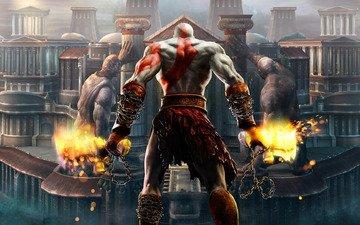 game, god of war, kratos