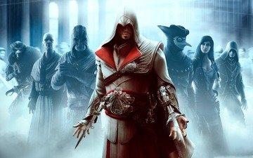 assassins creed, game, brotherhood