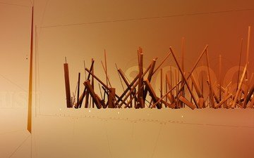 линии, палочки, 2006