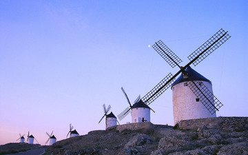 мельницы, ветряные