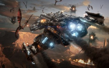 starcraft2, zerg, battlecruiser