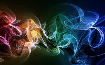 цвет, дым, спектр, ееое