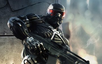 weapons, people, costume, power, crysis, 2, nano
