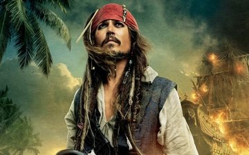 jack sparrow, captain, pirates of the caribbean: on stranger tides