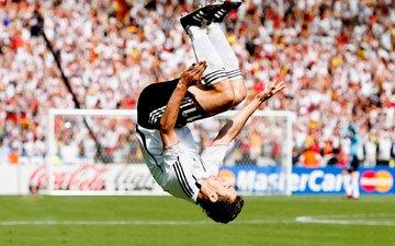 football, jump, stadium, player