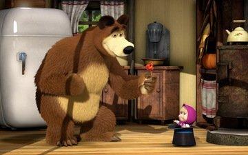 girl, masha and the bear