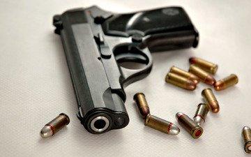 gun, bullet