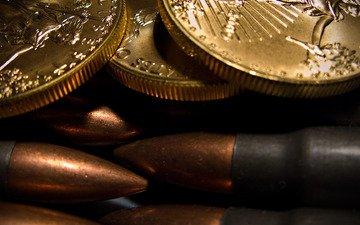 money, bullets