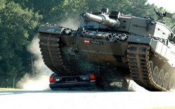tank, caterpillar, taran