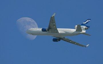 небо, самолет, вираж, ту