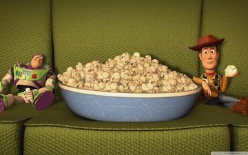toy story, toy story popcorn