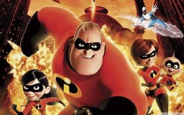 super hero, comic, super family