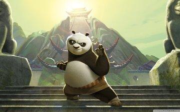 panda, kung fu panda