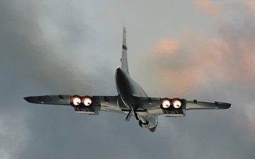 небо, самолет