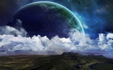 earth, nature, planet