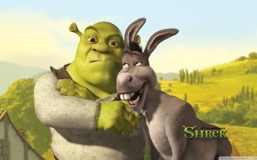 donkey, shrek