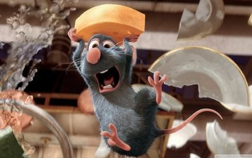 mouse, ratatouille, cook