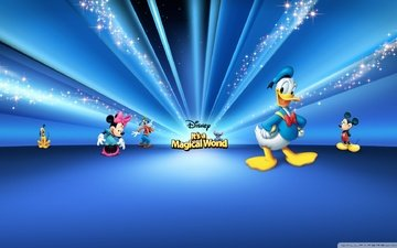 mickey mouse, disney, donald duck