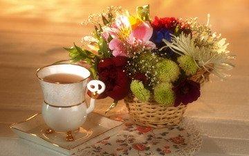 дом, чашка, чай, праздник, уют, бекет