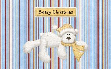 рождество, beary christmas
