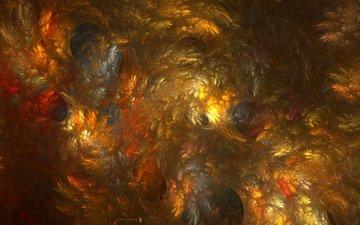 абстракция, фракталы, узоры