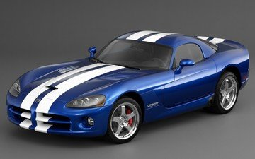 синий, серый, viper srt10 coupe, додж