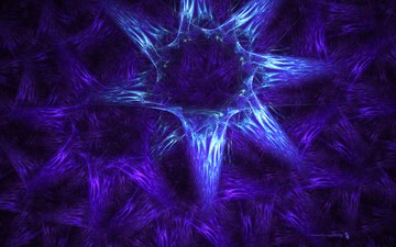абстракция, фиолетовый, узоры, фрактал, лиловая