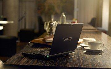 ноутбук, сони, vaio