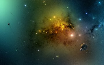 звезды, планеты, галактика