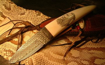 snakes, leather, knife, edged weapons, indian