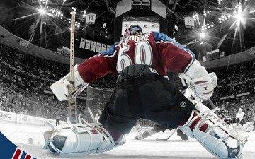 хоккей, лёд, жозе теодор, вратарь, нхл