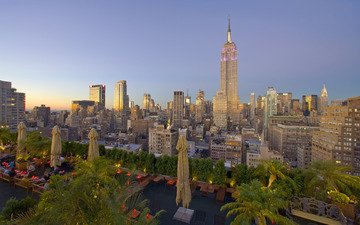 обои, нью-йорк, небоскрёб, манхеттен, манхэттен, нью - йорк