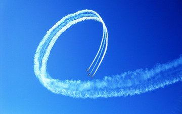 полет, команда, пилотаж, синхронизация