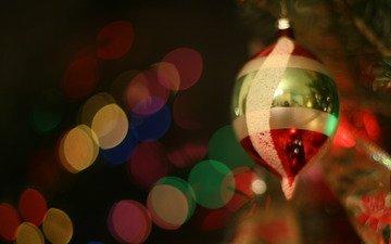 новый год, елка, настроение, игрушка, стекло, праздник, огоньки