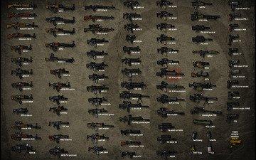 figure, machines, rifle, name