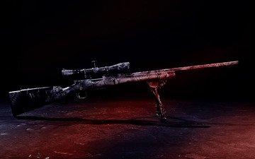 rifle, sight, sniper rifle
