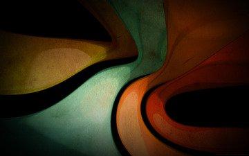 арт, обои, текстура, линии, цвета, фон, изогнутые