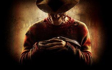 strips, smile, horror, killer, knife, glove, sweater, maniac, freddy krueger, a nightmare on elm street