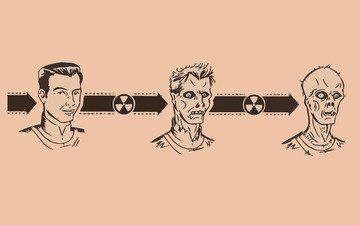 zombies, radiation, evolution, mutation
