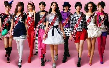стиль, музыка, девушки, команда, корея, girls' generation, girls generation