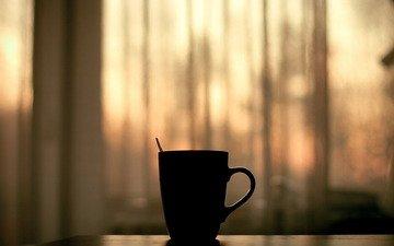 минимализм, кружка, чай, уют