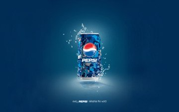 background, blue, drops, bank, pepsi