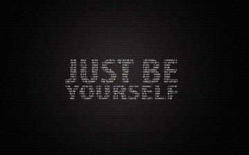 слова, буквы, фраза, будь собой, just be yourself