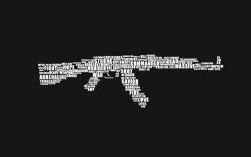 оружие, автомат, ак-47, калаш