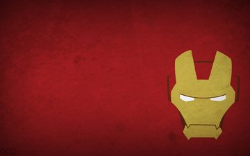 figure, minimalism, iron man